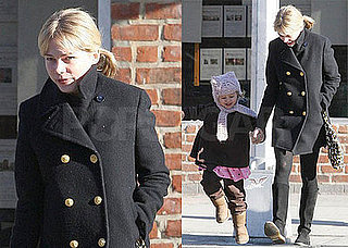 Photos of Michelle Williams and Matilda Ledger Out in Brooklyn