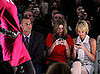Paris Hilton and Nicky Hilton Text During Fashion Show