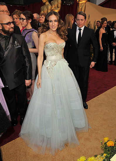 SJP and Matthew at Oscars