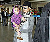 Photo of Nicole Richie and Harlow Madden at LAX