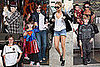 Photos of Victoria Beckham, Pregnant Nicole Richie and Eva Longoria Out in LA to Celebrate Cruz Beckham's 4th Birthdat