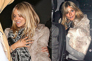 Photos of Sienna Miller Out at the War Child Charity Concert in London