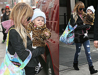 Photos of Nicole Richie and Harlow in New York City
