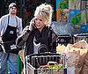 Photos of a Very Blonde Hilary Duff at a LA Grocery Store