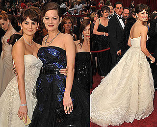 Photos of Marion Cotillard and Penelope Cruz at the 2009 Oscars