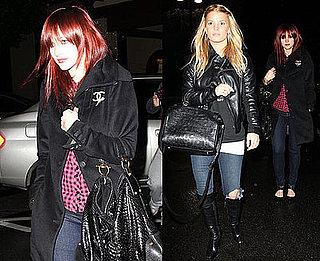 Photos of Jessica Simpson and Ashlee Simpson at Beverly Glen Mall in LA