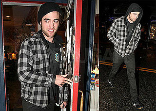 Photos of Robert Pattinson Leaving Groucho Club in London