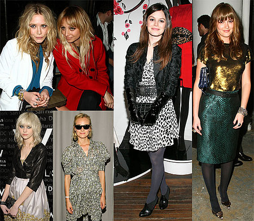 Photos of Mary-Kate Olsen, Nicole Richie, Leighton Meester at Proenza Show During Fashion Week