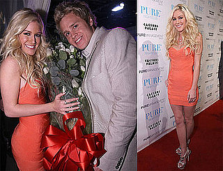 Photos of Heidi Montag and Spencer Pratt Celebrating Valentine's Day at Pure
