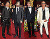 Photos of Brad Pitt, Zac Efron, Robert Pattinston, Robert Downey Jr and more men on the Oscar red carpet