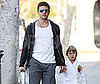 Photo of Ryan Phillippe and Deacon Phillippe Heading to Karate Class