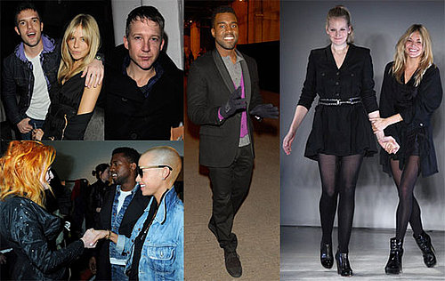 Photos of Sienna Miller and Kanye West in London For Vivienne Westwood, Twenty8Twelve 2009 Fall London Fashion Week