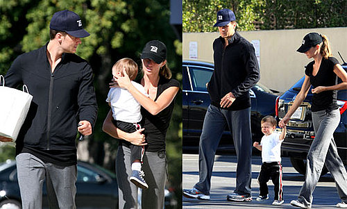 Photos of Tom Brady and Gisele Bundchen Who Got Married in LA 02/26/09