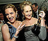 Photo of Meryl Streep and Kate Winslet Posing After the Oscars