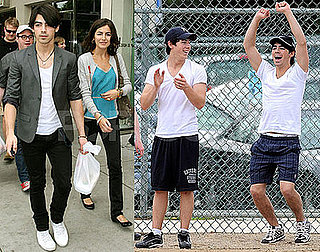 Photos of Joe Jonas on a Date With Camilla Belle