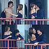 Photos of Shirtless Orlando Bloom Kissing Miranda Kerr on a Balcony in Australia