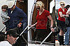Photos of Britney Spears arriving in Mississippi for her Circus Tour