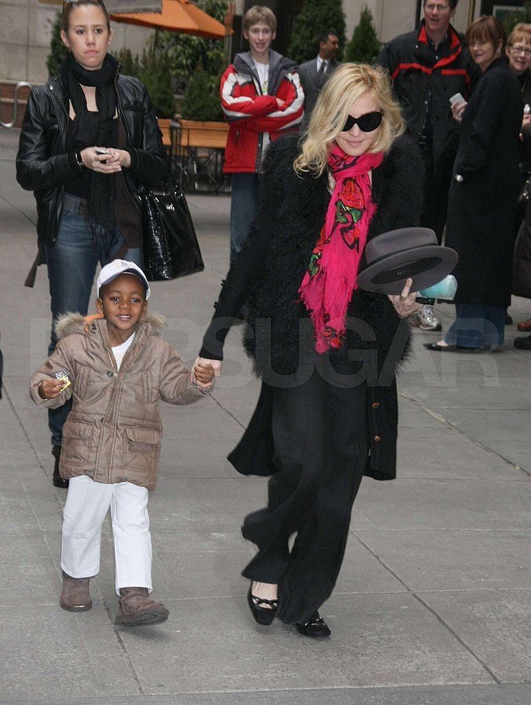Madonna and Jesus in NYC