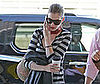Photo of Anne Hathaway at the Phoenix Airport