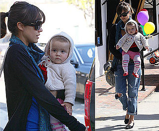 Photos of Jessica Alba and Her Daughter Honor Warren Out Shopping in LA