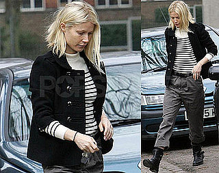 Photos of Gwyneth Paltrow Picking Up Apple From School