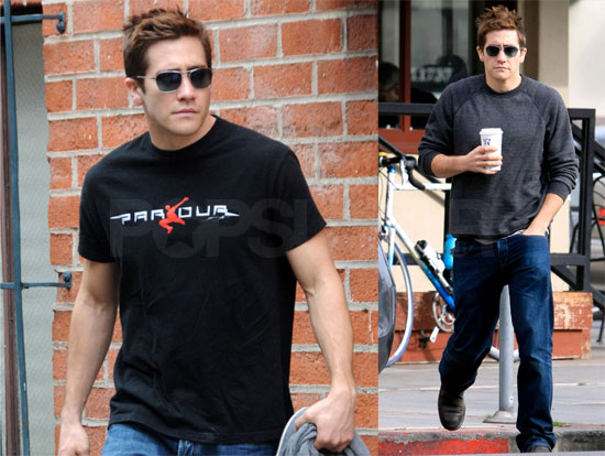 Jake Gyllenhaal in LA