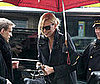 Photo of Charlize Theron Heading into Paris's Hotel de Crillon