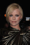 Charlize Goes Gold