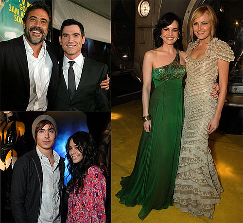 Photos of Jeffrey Dean Morgan, Malin Akerman, Zac Efron, Vanessa Hudgens at Watchmen Premiere