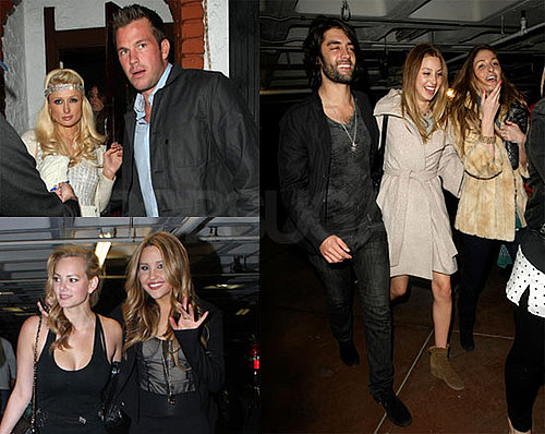Photos of Paris Hilton and Doug Reinhardt Making Out at Whitney Port's 24th Birthday