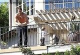 Gisele Bundchen and Shirtless Tom Brady in LA