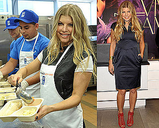 Photos of Fergie at Project Angel Food in LA as MAC VIVA Glam Spokesperson