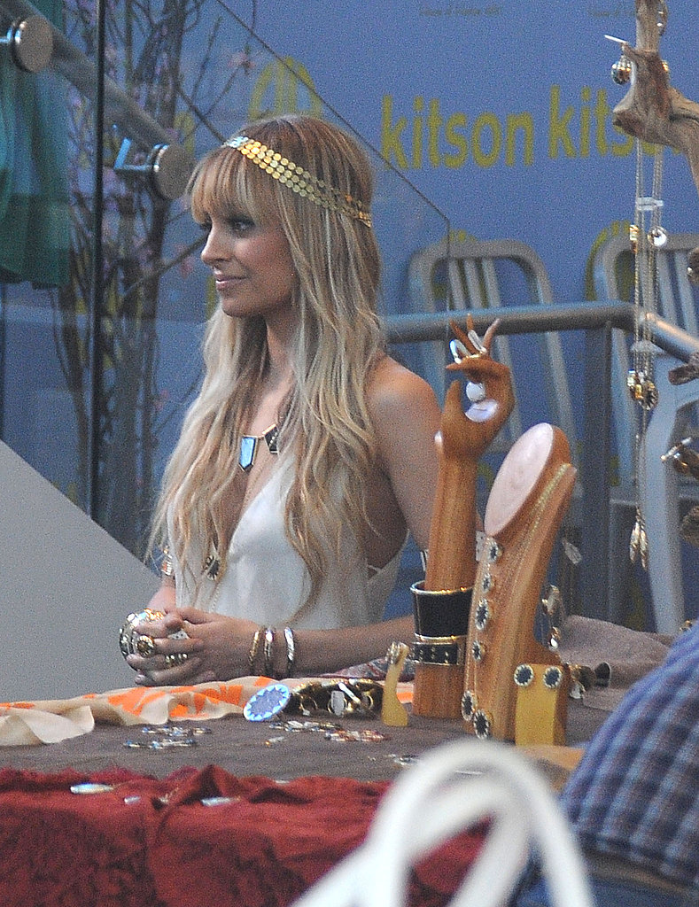 Nicole Richie at Kitson