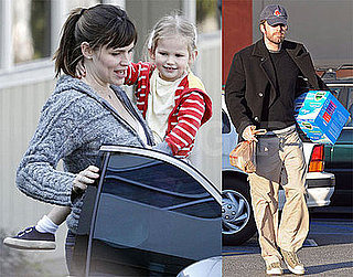 Photos of Jennifer Garner, Violet Affleck in LA