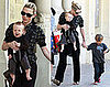 Photos of Cate Blanchett With Her Sons Out in Australia