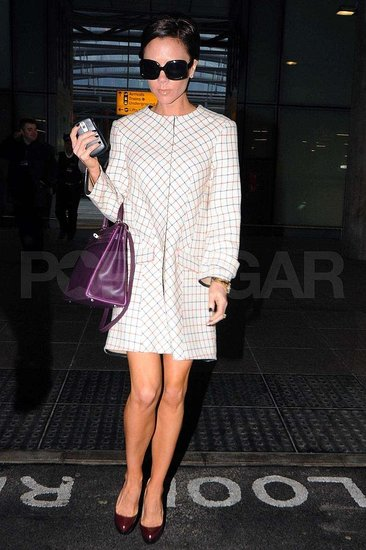 Victoria Beckham at Heathrow