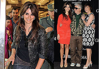 Photos of Penelope Cruz and Pedro Almodovar at a Broken Embraces Photo Call in Madrid