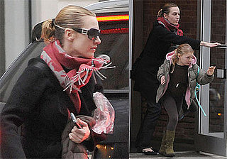 Photo of Kate Winslet and Mia in NYC