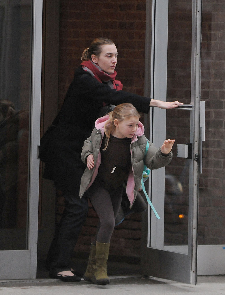 Kate Winslet and Mia in NYC