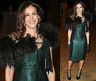 Photos of Sarah Jessica Parker at the School of American Ballet's Winter Ball
