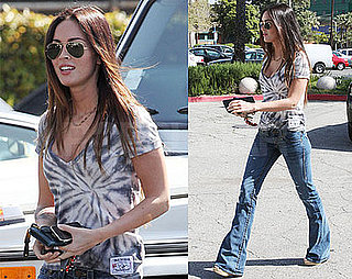 Photos of Megan Fox, Who's Back with Brian Austin Green, Out in LA