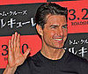 Photo of Tom Cruise at a Valkyrie Press Conference in Tokyo
