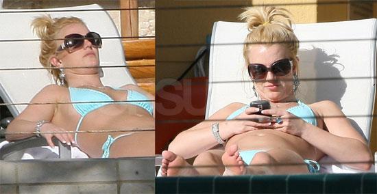 Britney in a Bikini in Miami