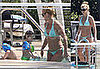 Britney Spears in Bikini with Her Sons in Miami