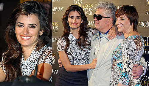 Photos of Penelope Cruz at the Barcelona Screening of Broken Embraces