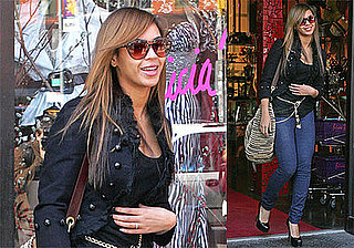 Photos of Beyonce Knowles in NYC