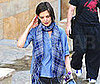 Photo of Katie Holmes Arriving to an LA Dance Class