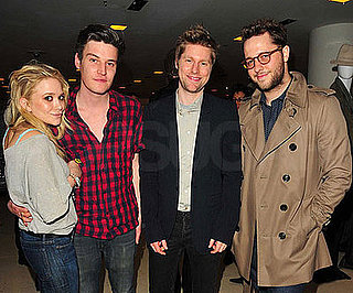 Photo of Mary-Kate Olsen, Her Boyfriend Nate Lowman, Christopher Bailey and Derek Blasberg Out in NYC