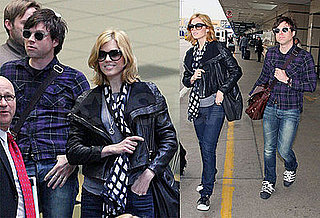 Photos of Married Mandy Moore and Ryan Adams at LAX Together