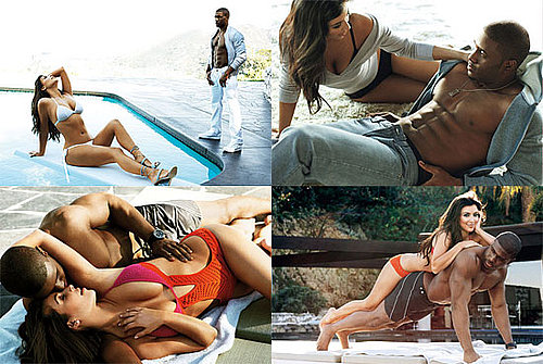 Kim Kardashian Bikini Photos and Reggie Bush Shirtless For GQ